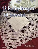 12 kniplinger til bordet