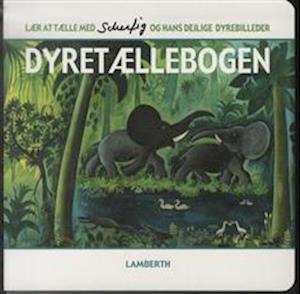 Bog, papbog Dyretællebogen af Lena Lamberth