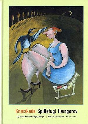 Bog, indbundet Knæskade, spillefugl, hængerøv og andre mærkelige udtryk af Dorte Karrebæk