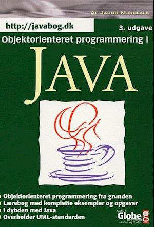 Bog, indbundet Objektorienteret programmering i Java af Jacob Nordfalk