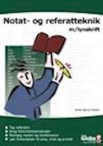 Notat- og referatteknik med lynskrift