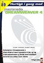 Hurtigt i gang med Dreamweaver 4