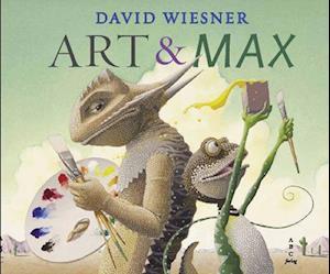 Bog, indbundet Art & Max af David Wiesner