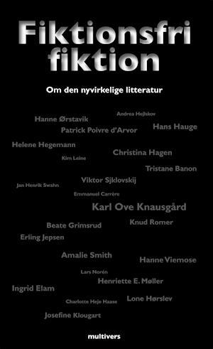 Bog, hæftet Fiktionsfri fiktion af Hans Hauge