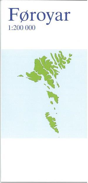 Føroyar Færøerne 1:200.000