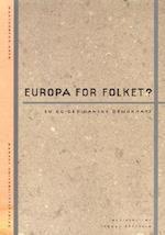 Europa for folket? (Magtudredningen)