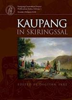 Kaupang in skiringssal (Kaupang Excavation Project Publication Series)