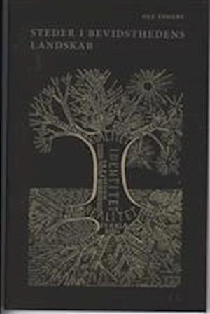 Bog hæftet Steder i bevidsthedens landskab - grene på ideernes træ af Ole Togeby