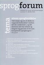 Almen sprogforståelse (Sprogforum, nr. 37)