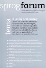 E-læring og m-læring (Sprogforum, nr. 38)