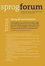 Sprog på universitetet (Sprogforum, nr. 46)