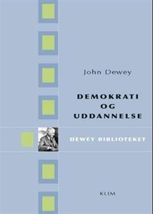 Bog, hæftet Demokrati og uddannelse af John Dewey