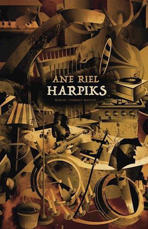 Bog, hæftet Harpiks af Ane Riel