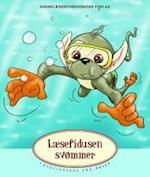 Læsefidusen svømmer