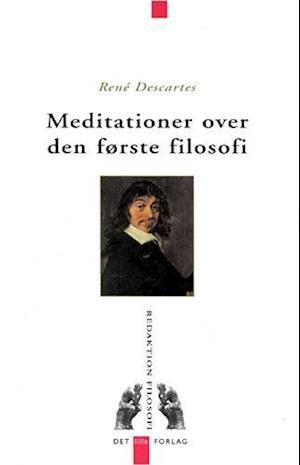 Bog, hæftet Meditationer over den første filosofi af Descartes