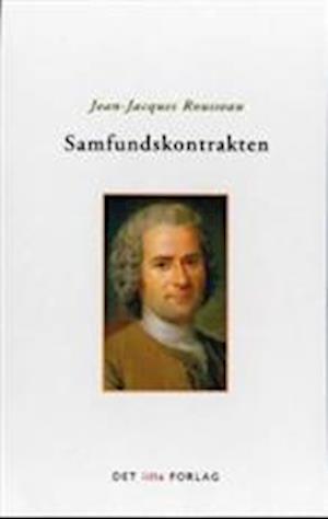 Bog hæftet Samfundskontrakten. eller Statsrettens principper af Rousseau