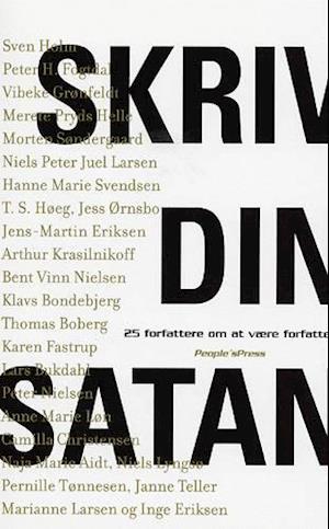 Skriv din satan