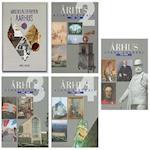Bogpakke: Århus - Byens historie bd. 2-5 + Middelalderbyen Århus af Flere forfattere