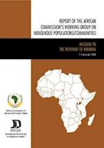 Report of the African Commissions Working Group on Indigenous Populations/Communities