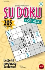 SU DOKU for alle 4 (SU DOKU for alle, nr. 4)