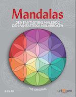 Den Fantastiske Malebog med Mandalas fra 8-99 år