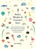 Babys Minder & Gemmer Kort Display med 6 pakker