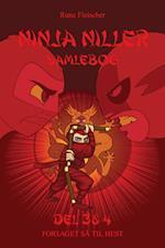 Ninja Niller - samlebog del 3 & 4 af Rune Fleischer