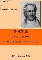 Goethe, hans liv og værker af P Hansen