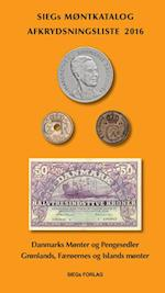 Siegs møntkatalog med afkrydsningsliste
