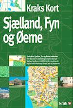 Kraks kort Sjælland, Fyn og øerne