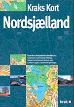 Kraks kort over Nordsjælland