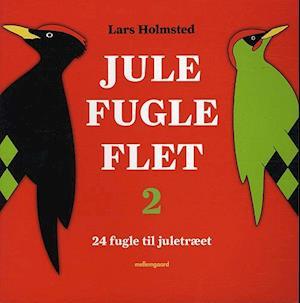 Bog hæftet Jule-fugle-flet 2 af Lars Holmsted