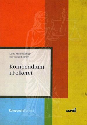 Sidste nye Få Kompendium i Folkeret af Carina Myllerup Nielsen som Hæftet bog QX-19