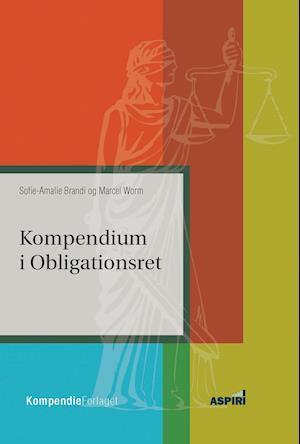 Bog, hæftet Kompendium i obligationsret af Sofie Amalie Brandi