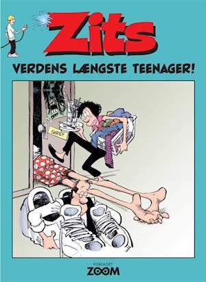 Bog, hæftet Zits - verdens længste teenager! af Jerry Scott