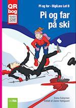 Pi og far på ski - Læs med lyd (Let B)