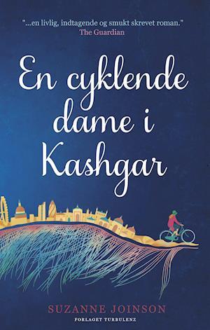 En cyklende dame i Kashgar