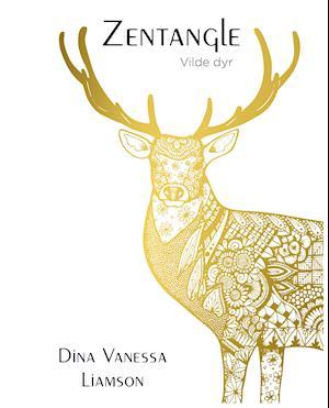 Bog, paperback Zentangle - Vilde dyr af Dina Vanessa Liamson