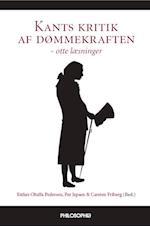 Kants kritik af dømmekraften - otte læsninger af Carsten Friberg, Esther Oluffa Pedersen, Henrik Jøker Bjerre