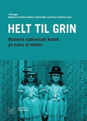 Bog, hæftet Helt til grin af Andreas Halskov, Henrik Højer, Thomas Schwartz Larsen