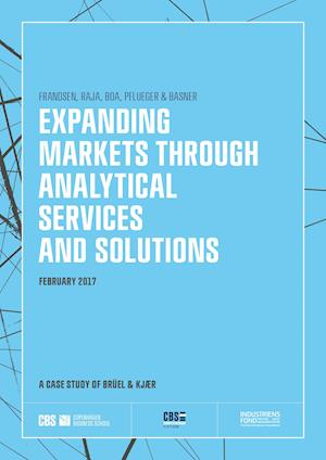 EXPANDING MARKETS THROUGH ANALYTICAL SERVICES AND SOLUTIONS