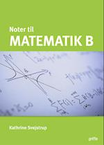 Matematik B noter