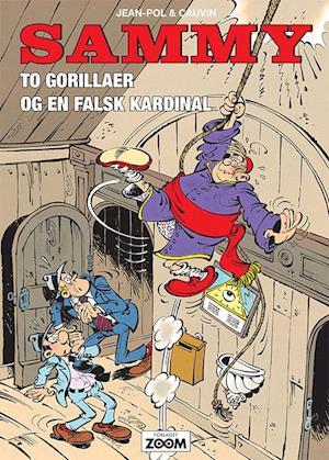 To gorillaer og en falsk kardinal