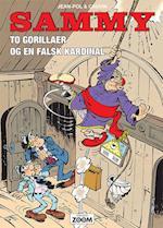 To gorillaer og en falsk kardinal (Sammy)