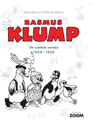 Bog, indbundet Rasmus Klump- 1955-1959 af Vilhelm Hansen, Carla