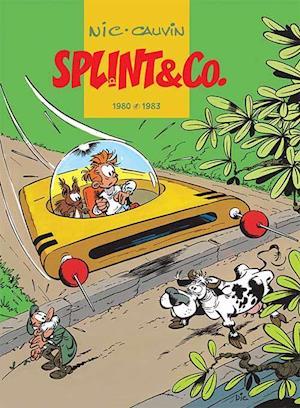 Bog indbundet Splint & Co.- 1980-1983 af Nic  Cauvin