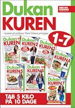 Dukan-kuren - samlede kure 1-7 (Dukan kuren)