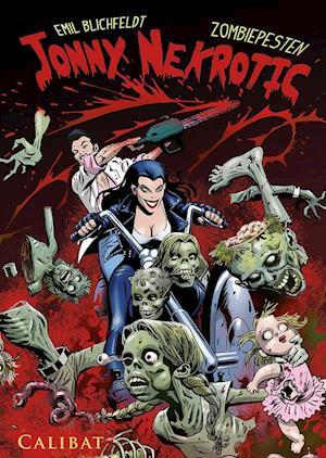 Jonny Nekrotic - Zombiepesten af Emil Blichfeldt