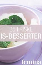 25 friske is-desserter