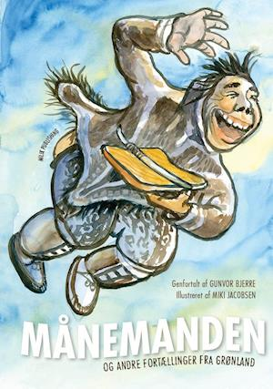 Bog, indbundet Månemanden og andre fortællinger fra Grønland af Gunvor Bjerre